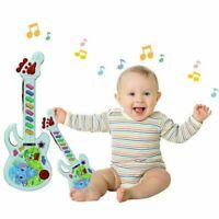 Kinder Gitarre Elektrisch Musikalisches Kleinkind Musik Bildung Spielzeug Neu