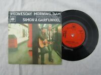 SIMON & GARFUNKEL WEDNESDAY MORNING,3AM EP cbs 6053