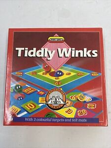 Vintage Tiddly Winks by Spears Games 1988 100% Complete Very Rare Version