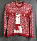 Blizzard Bay mens ugly christmas sweater llama XXL cotton