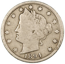 More details for 1894 liberty v nickel ~ usa 5 cents