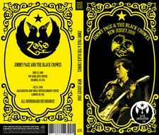 JIMMY PAGE & THE BLACK CROWES, NEW JERSEY 2000, 4 x CD LTD DLX LONG BOX (SEALED)
