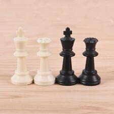 32Pcs/Set Chess Pieces Plastic King High 65mm Chessmen Entertainment Games CB