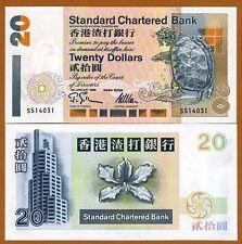 Hong Kong, $20, 1995, SCB, P-285b, UNC