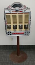1988 Vendall Corporation Robot Vendor Gumball Machine Dispenser (No Key)