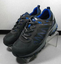BANGALO CHARCOAL MARSP70 Men's Shoes Size 8 M Suede / Fabric Lace Up  Mephisto
