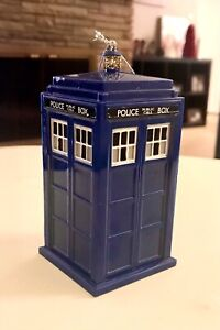 """NEW BBC Doctor Who 13th Doctor TARDIS Ornament Shatterproof 4.5"""""""