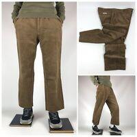 Vintage Polo Ralph Lauren Chatfield Corduroy Brown Trousers Pants Men's Sz 40/34