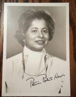 Ambassador, HUD Secretary ~ Patricia Roberts Harris Signed Photograph & 1979 Bio