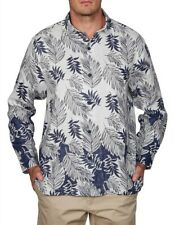New TOMMY BAHAMA Mens Size 3XL - 4XL Long Sleeve 100% LINEN SHIRT RRP $178