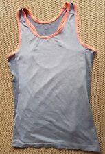 H&M Damen Tanz Fitness Shirt Sport Top Tank Top Grau,  Größe M
