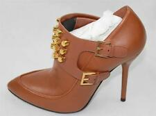 AUTH $1150 Gucci Women Leather High Heel Boots 38