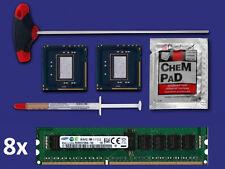 2x Intel Xeon x5690 Six-Core CPU matched pair slbvx + 64gb di RAM F Mac Pro 4,1 5,1