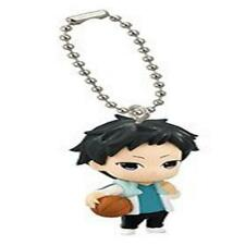 "Brother's Conflict Character Mascot Swing Key Chain Figure ~ 1.5"" - Asahina Suba"