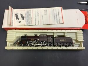 RIVAROSSI HO/OO 1348 4-6-O LOCOMOTIVE Royal Scot LMS 6100 Boxed with accessories