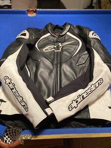Alpinestars Leather Jacket Jaws Euro 56