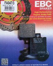 EBC/FA047/3 Brake Pads (Rear) - Honda NSR125 91-04
