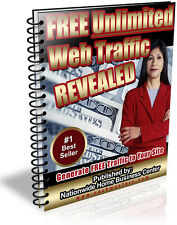 FREE UNLIMITED WEB TRAFFIC REVEALED PDF EBOOK FREE SHIPPING RESALE RIGHTS