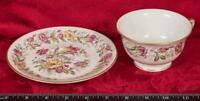 Vintage Tea Cup & Saucer Old Royal Jackson Bone China mbh