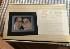 "New Pandigital Picture Photo Frame 5 X 6"" 128 MB Digital Black Changeable Frame"