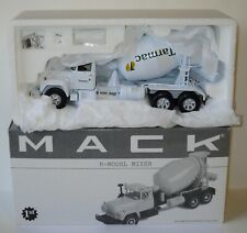 First Gear - Mack R Model Mixer Truck - TARMAC - Boxed. 1:34 Scale.