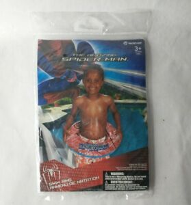 Hedstrom The Amazing Spider-man Swim Ring Pool Float New