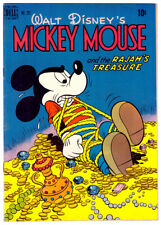 MICKEY MOUSE #231 in VF a 1949 Golden Age DELL FC Four Color Walt Disney comic