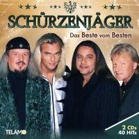 SCHÜRZENJÄGER - DAS BESTE VOM BESTEN  2 CD NEU