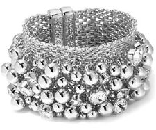 """Real Collectibles by Adrienne """"Extraordinarily Jeweled Movement""""Cluster Bracelet"""