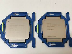 Set of two Intel Xeon E5-2620 V3 (SR207) 2.40GHz 6-Core FCLGA2011-3 CPU