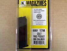 Colt 1903 pocket pistol 380 ACP magazine by Triple K - Model 17M