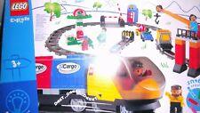 Lego Duplo Eisenbahn Intelli,Deluxe 3325,Lok mit Messingzahnrad Ovp Komplett