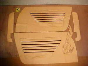 Ferrari 365 Door Panel Cover_Inserts 365 GTB 4 Daytona GTS 4 Pair Connolly NEW