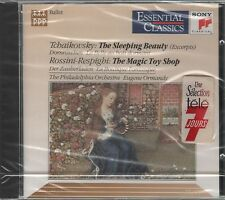 CD 1990 TCHAIKOVSKY THE SLEEPING BEAUTY ROSSINI RESPIGHI THE MAGIC TOY SHOP