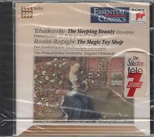 CD 1990 TCHAIKOVSKY THE SLEEPING BEAUTY ROSSINI RESPIGHI THE MAGIC TOY SHOP