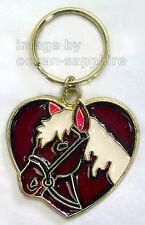 HORSE Heart  Key Ring  Key Chain Keychain Great gift!