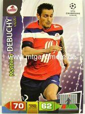 Adrenalyn XL Champions League 11/12 - mathieu debuchy