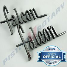 FALCON Rear Quarter Badge Set x2 , NEW for XW XY Ford Falcon 351 302 GS guard