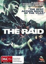 The Raid NEW R4 DVD