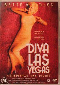 Diva Las Vegas DVD - Bette Midler - Free Post