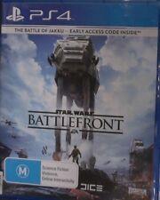 STAR WARS BATTLEFRONT Sony Playstation 4 PS4 Game 30 DAYS WARRANTY.