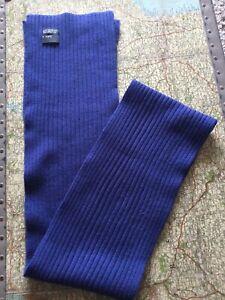 Jakes Blue Merino Wool Scarf BNWOT