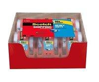 Scotch Heavy Duty Shipping Packaging Tape, 1.88 inches x 800 inches, 6 Rolls new