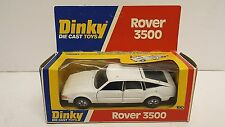 Dinky 180 ROVER 3500 en blanc Saloon Voiture mint boxed (D219)