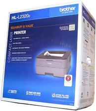 Brother HL-L2320D black and white Mono Laser Printer with toner (new)