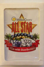 """MillerCoors All Star Weekend """"Win with Distribution"""" Beer Playing Cards"""