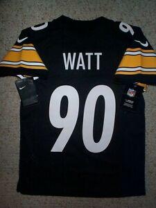 *IRREGULAR* Steelers TJ WATT nfl NIKE Jersey YOUTH KIDS BOYS (s-sm-small)