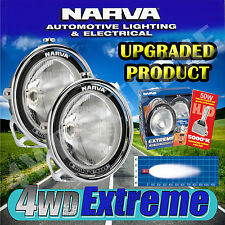NARVA EXTREME HID BROAD BEAM SPOTLIGHTS KIT CHROME PAIR LAMP 71764HID