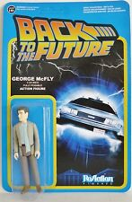 """GEORGE McFLY Back to the Future 3 3/4"""" inch Reaction Retro Action Figure 2014"""