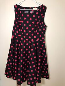 Vintage 50's Style Cocktail  Dress 2x